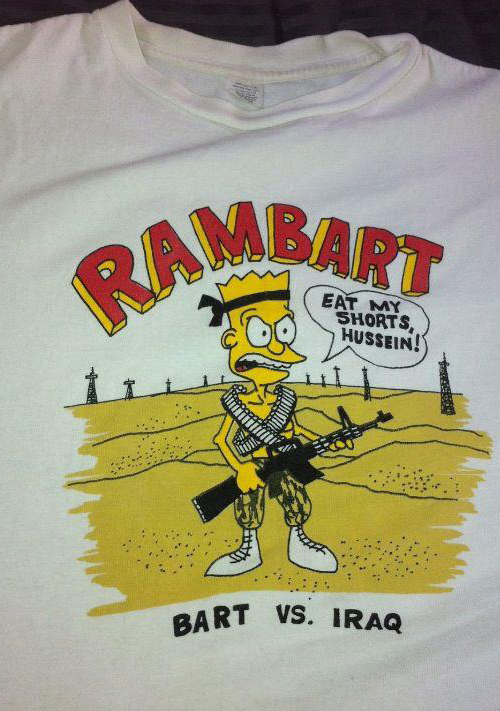 Bootleg Bart Rambart T-Shirt