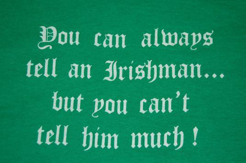 Vintage You Can Always Tell Irishman T-Shirt