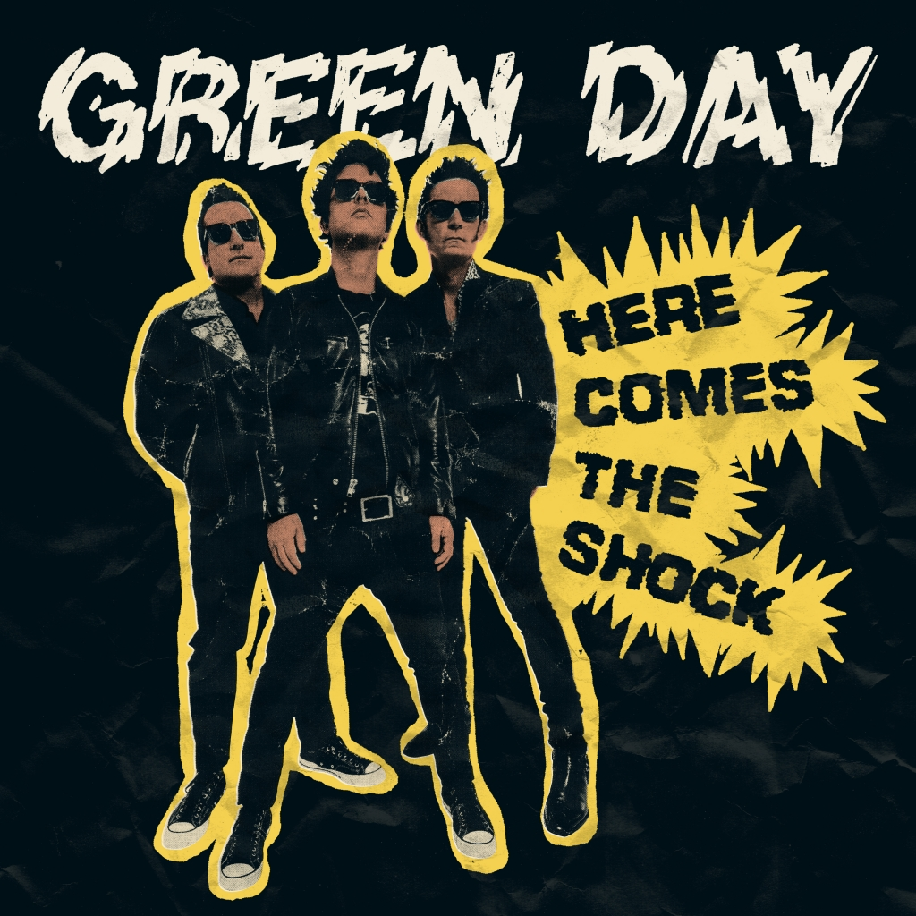 Perry Shall Art: Green Day Here Comes the shock Album
