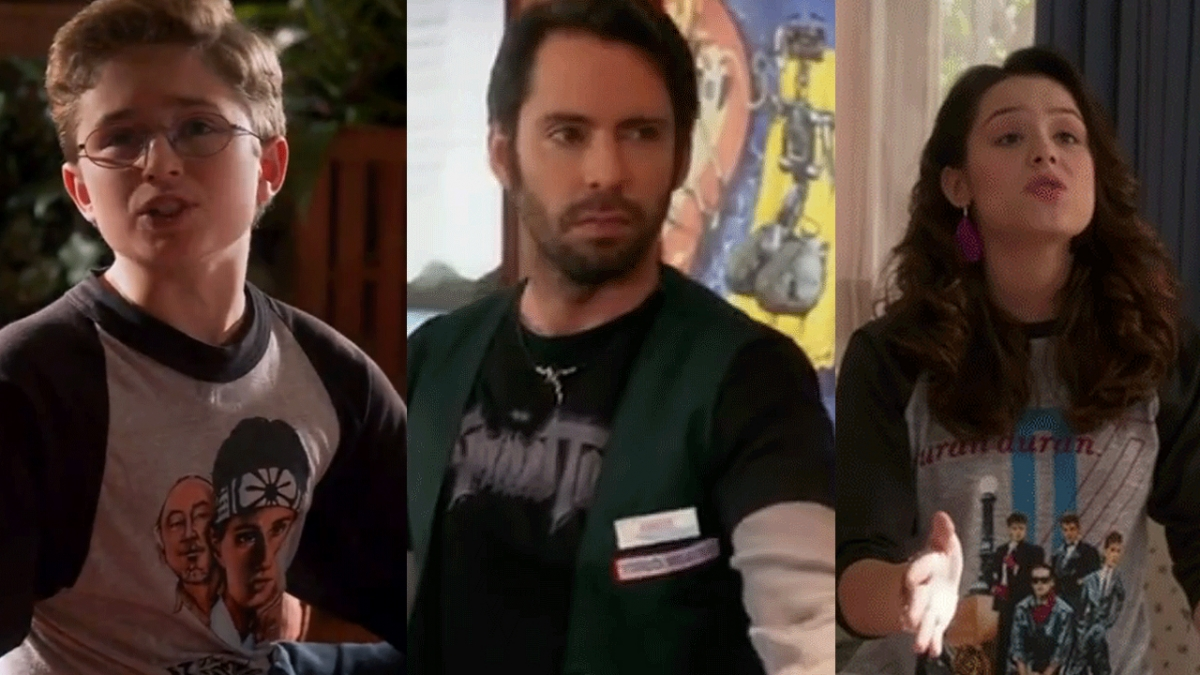 Guide to Vintage Tees in the Goldbergs Season 1