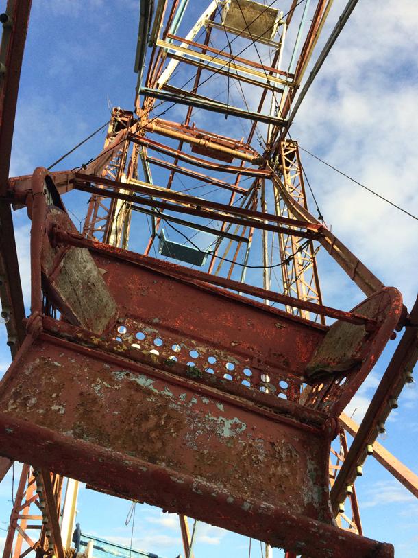 Rusty Ferris Wheel