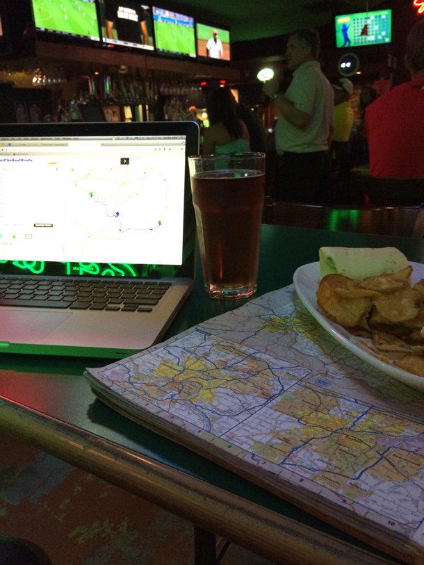 Route Planning Beer & Wifi