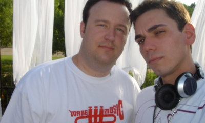 Kevin Scott and DJ AM