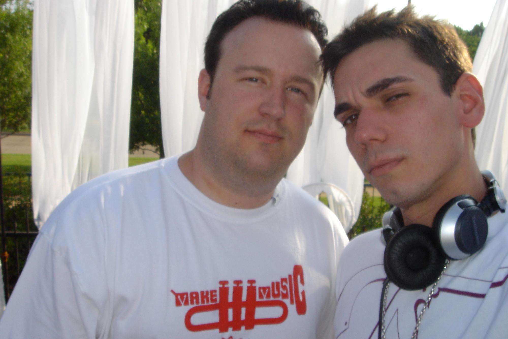 Kevin Scott and DJ AM