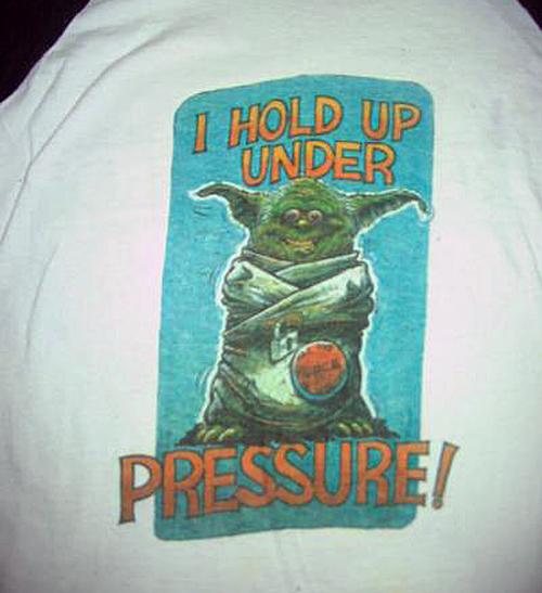 Yoda Under Pressure T-Shirt