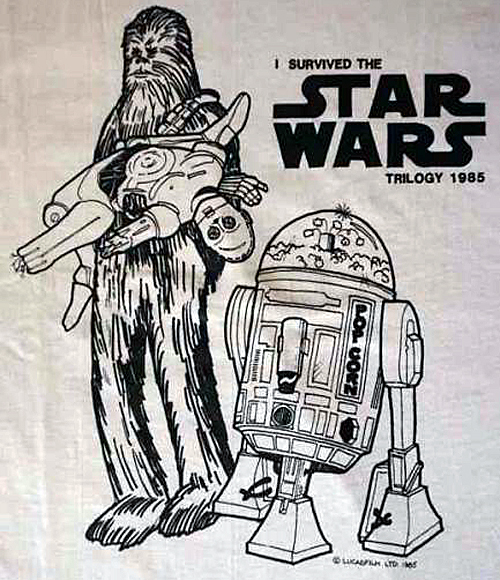 I Survived The Star Wars Trilogy tee