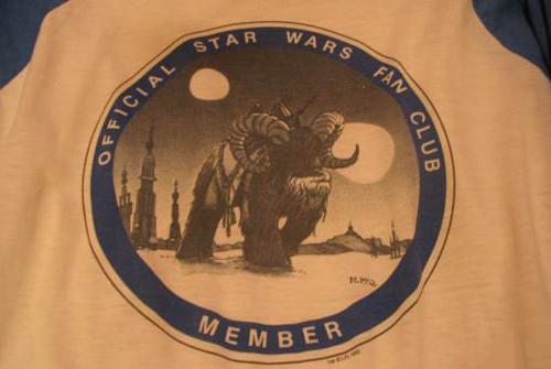 Official Star Wars Fan Club T-Shirt