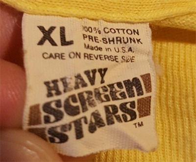 Heavy Screen Stars Tag 1981