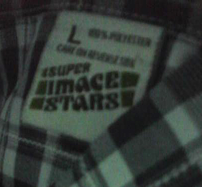 Super Image Stars Tag Polyester