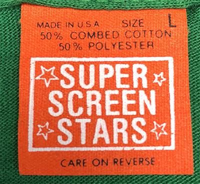 orange super screen stars tag