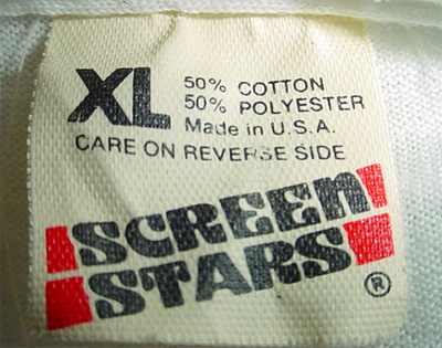 1983 to 1990 Screen Stars Tag Redesign