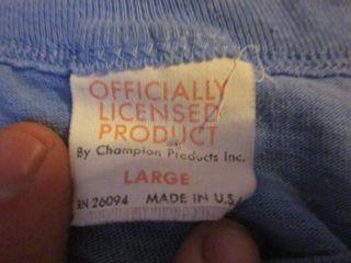 Vintage UNC North Carolina T-shirt Tarheels Michael Jordan
