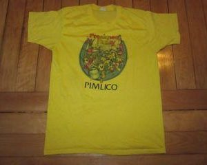 Vintage Preakness T-shirt Pimlico Baltimore Maryland Horse