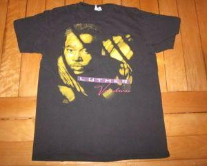 Vintage Luther Vandross T-shirt Power of Love Tour 1991 R&B
