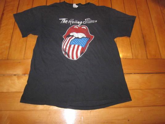 Vintage Rollling Stones T-shirt 1981 North American Tour