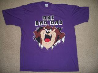 Vintage Tasmanian Devil T-shirt Looney Tunes 1980s TAZ