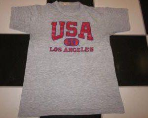 Vintage Los Angeles Olympics T-shirt 1984 USA America