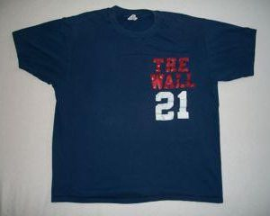 Vintage The Wall T Shirt 21 1980s Hanes Fifty Fifty