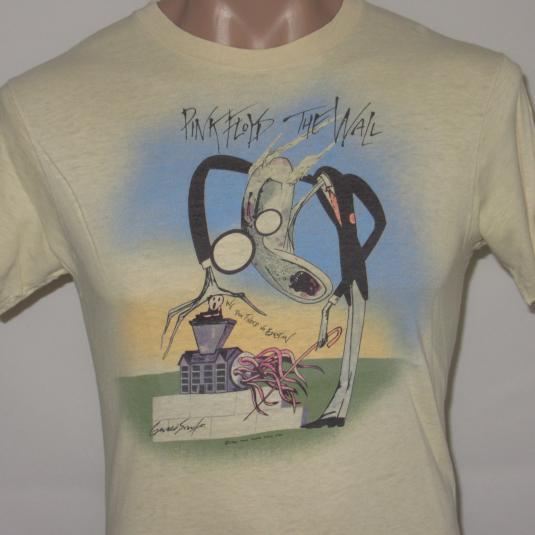 Pink Floyd The Wall MEDIUM Gerald Scarfe 1982 Vintage Concer
