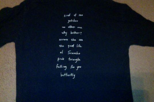 Weezer 1996 Pinkerton vintage shirt