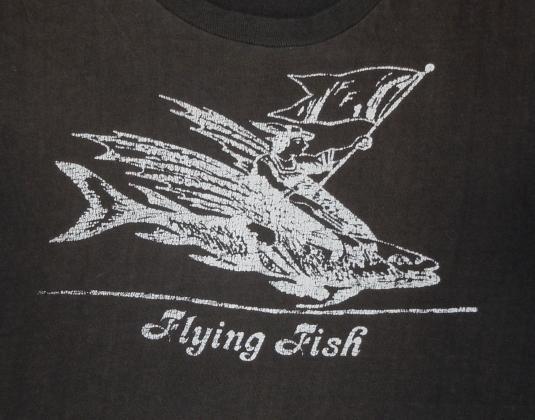 1970s Flying Fish Record Label Promo T-Shirt