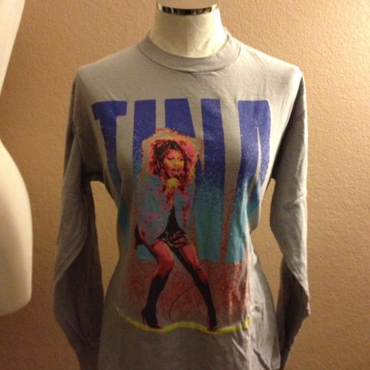 Tina Turner Private Dancer Long Sleeve Tee