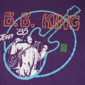 1980s B.B. KING TOUR '85 - SCREEN STARS - XL