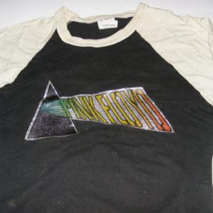 Pink Floyd Dark Side Of The Moon Glitter Baseball Shirt