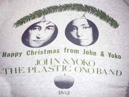 War Is Over – 1970's John Lennon/Yoko Ono
