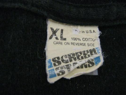 Mr Big Vintage 1992 Concert T-Shirt ~ Drilled and Confused