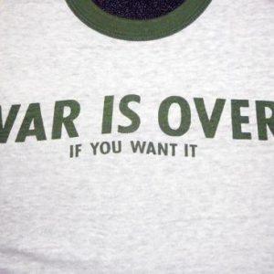 War Is Over - 1970's John Lennon/Yoko Ono
