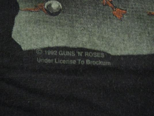 Guns N Roses 91-92 Vintage Concert T-Shirt