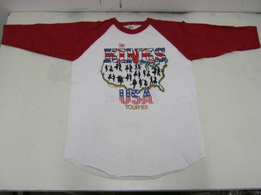 The Kinks Vintage 1983 Concert T-Shirt – State of Confuzion
