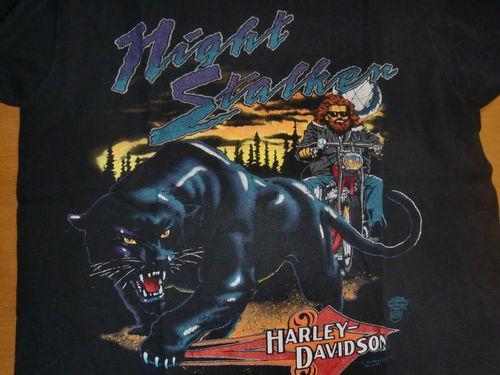 Harley Davidson – 1991 Night Stalker Vintage T-Shirt