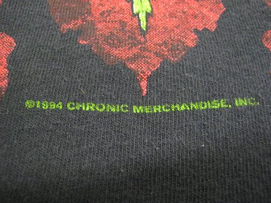 Dr Dre Vintage 1994 Concert T-Shirt ~ The Chronic Tour