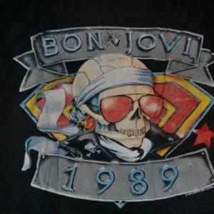 Bon Jovi Vintage 1989 Concert T-Shirt - Back Kickin Ass
