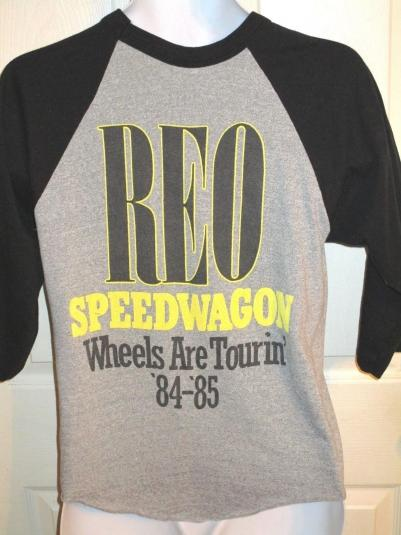 1984 REO SPEEDWAGON 3/4 Sleeve T-Shirt