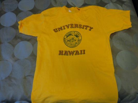 Vintage 1970s University of Hawaii College T-shirt M