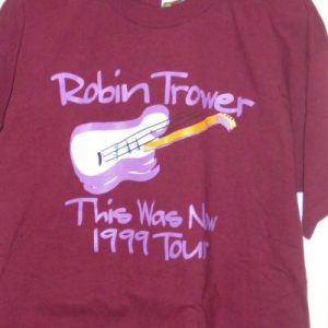 1999 Robin Trower - This Was Now tour