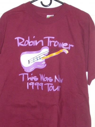 1999 Robin Trower – This Was Now tour