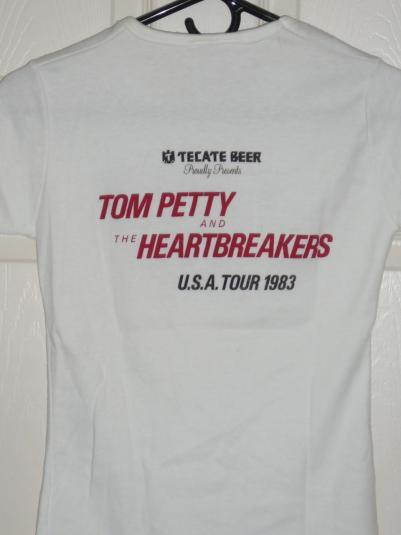 1983 Tom Petty – Tecate (Hearts) T.P. & (Heartbreakers)