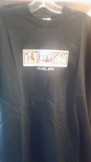 Pearl Jam Tour Shirt