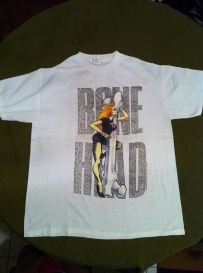 GREAT WHITE THE DOUBLE HEADER TOUR 1989 BONE HEAD