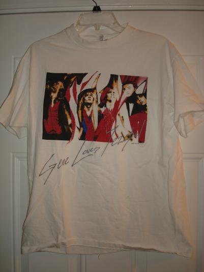 Gene Loves Jezebel 1987 Tour Shirt
