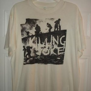 Killing Joke 1980 First Album Promo Shirt