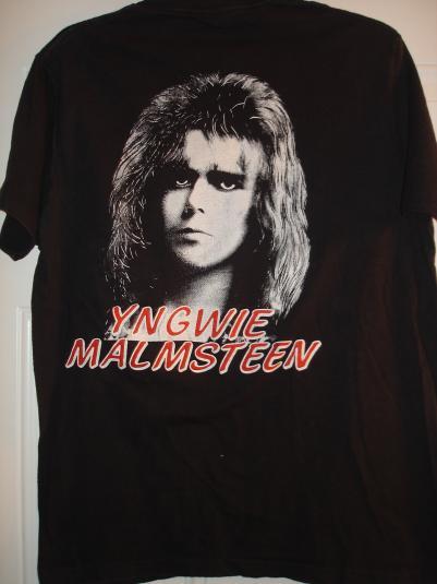 Triumph / Yngwie Malmsteen 1986 Tour Shirt