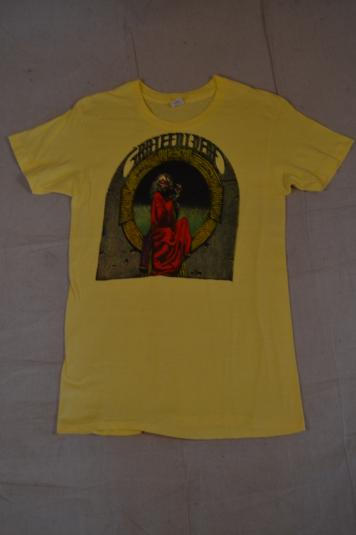 Deadstock RARE 1975 Greatful Dead Blues For Allah T-Shirt