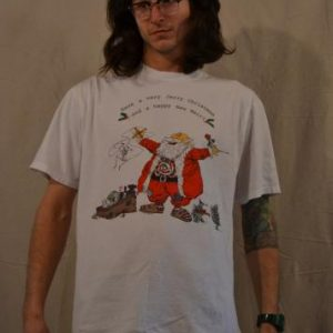 Awesome Vintage 1989 The Grateful Dead Christmas T-shirt