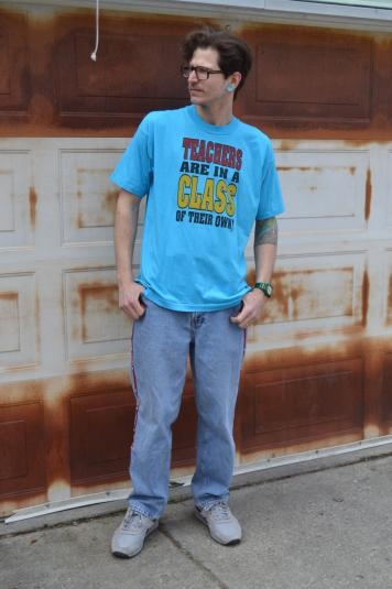 Funny Vintage 90's Teacher / Teaching XL T-Shirt