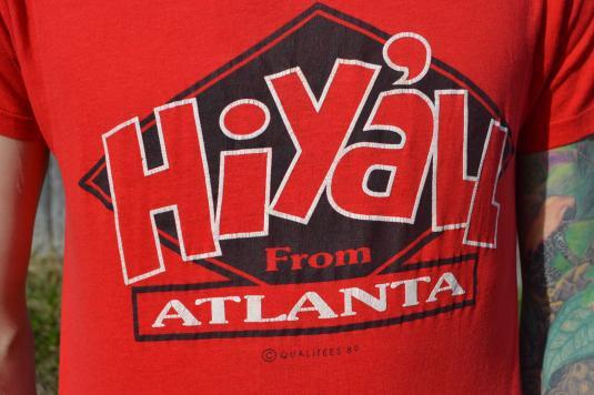 Way Funny Vintage 1989 Atlanta, Georgia T-Shirt